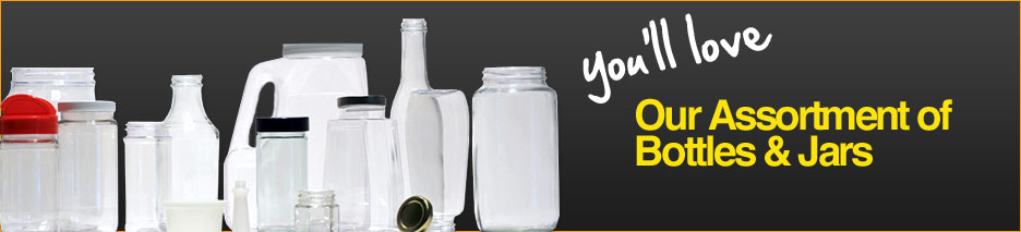 Assortment of Bottles and Jars